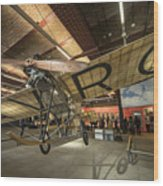 Avro Type F  Wood Print