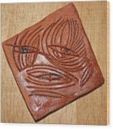 Awaits - Tile Wood Print