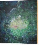 Awakening Abstract II Wood Print