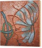 Awash - Tile Wood Print