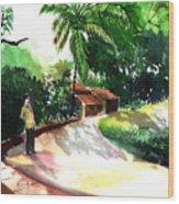 Awe Wood Print