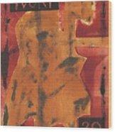 Axeman 1 Wood Print