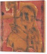 Axeman 13 Wood Print