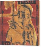 Axeman 16 Wood Print