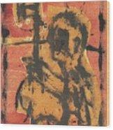 Axeman 2 Wood Print