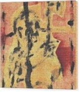 Axeman 4 Wood Print