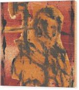 Axeman 5 Wood Print