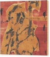 Axeman 6 Wood Print
