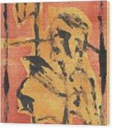 Axeman 8 Wood Print
