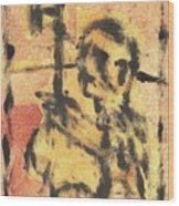 Axeman 9 Wood Print
