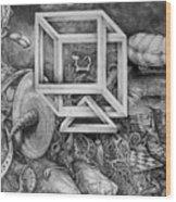 Axis Mundi Wood Print