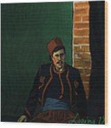 Ay Sir Wood Print