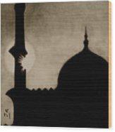Azaan Wood Print