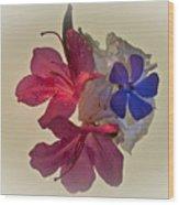 Azalea Bouquet Majic Wood Print