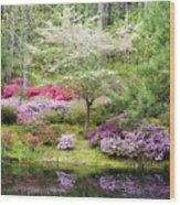 Azalea Heaven Wood Print by Eggers Photography