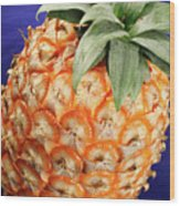 Azores Pineapple Wood Print