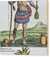 Aztec: Chocolate, 1685 Wood Print