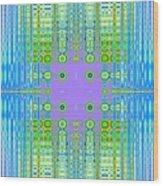 Aztec Computer Wood Print
