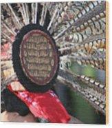 Aztec Danza 1 Wood Print