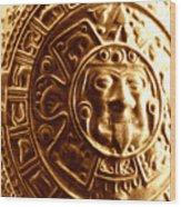 Aztec Gold Photograph Wood Print