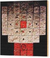 Aztec Nuclear Furnace Wood Print