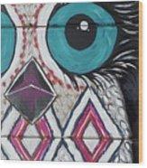 Aztec Owly Wood Print