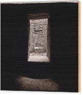 Aztec Portal  Wood Print