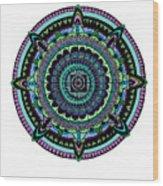 Azteca Wood Print