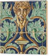 Azulejo Tile Wood Print