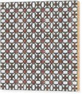 Azulejos Magic Pattern - 06 Wood Print
