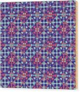 Azulejos Magic Pattern - 07 Wood Print