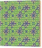 Azulejos Magic Pattern - 08 Wood Print