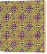 Azulejos Magic Pattern - 09 Wood Print