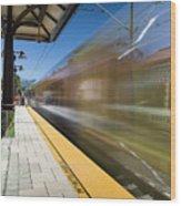 Azusa Downtown Metro Station Wood Print