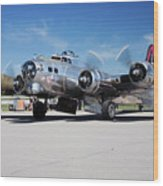 B-17 Flying Fortress, Yankee Lady Wood Print