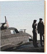 B-17 Wood Print