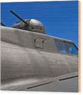 B-17 Top Guns Wood Print
