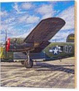B-24 Liberator Wood Print