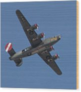 B-24j Liberator Wwii Fighter Wood Print