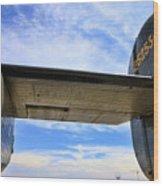 B-24j Tail  Wood Print