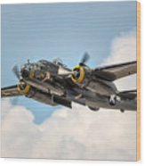 B-25 Georgie's Gal Wood Print