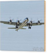 B-29 Doc Wood Print