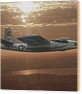 B-45c Tornado Wood Print