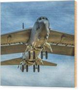 B-52 Departure Color Wood Print