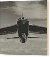 B-52 Stratofortress Triptych - 2 Wood Print