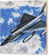 B-58 Hustler - Oil Wood Print