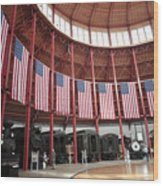 B And O Museum Roundhouse In Baltimore Maryland Wood Print