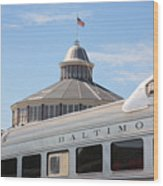 B And O Railroad Museum In Baltimore Maryland Wood Print