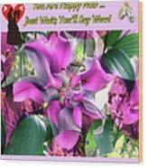 B Exton  Flowering Of Delights  Bigstock 164301632  2991949 Wood Print