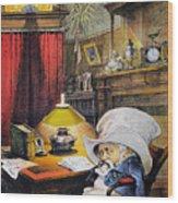 B. Harrison Cartoon, 1892 Wood Print